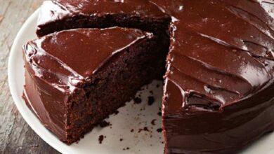 طريقة عمل كيك الشوكولاتة الهشة