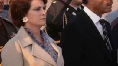 وصية جيهان السادات لنجلها قبل وفاتها وتفاصيل مراسم الجنازة العسكرية